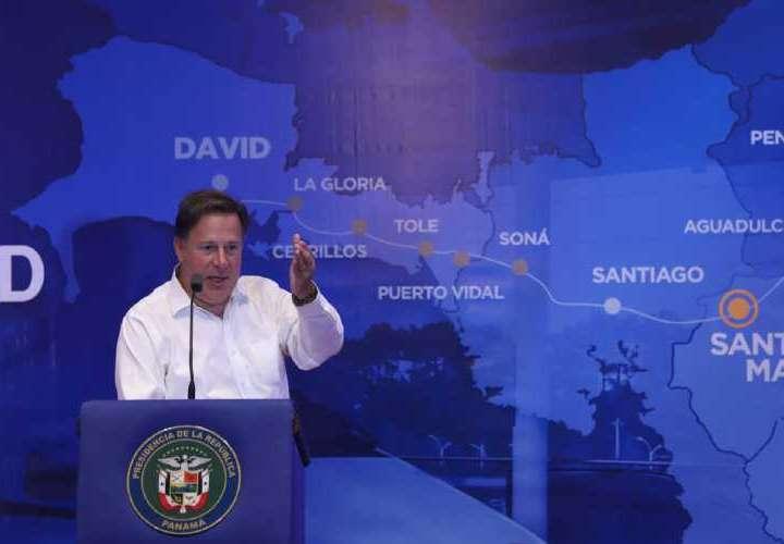 Varela promociona el tren chino en Azuero