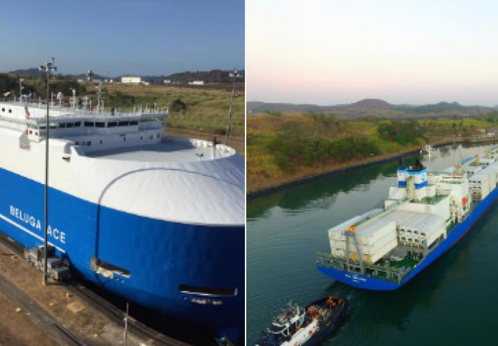 Carga refrigerada transita por primera vez por el Canal de Panamá