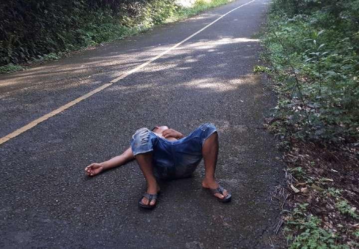 Alcohólicos atropellados por pasar la 'juma' en la vía