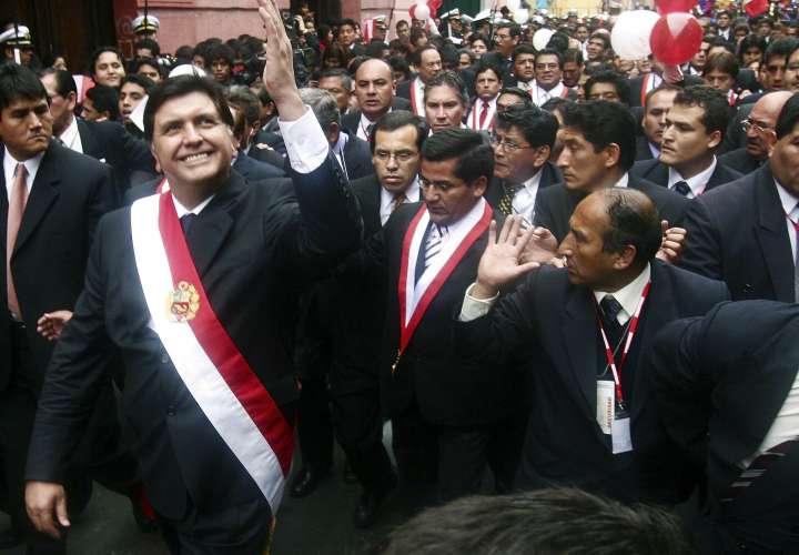 El expresidente peruano Alan García (1985-1990 y 2006-2011).