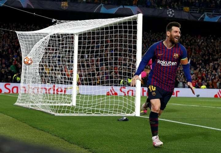El Barcelona puso un pie en la final de la Liga de Campeones
