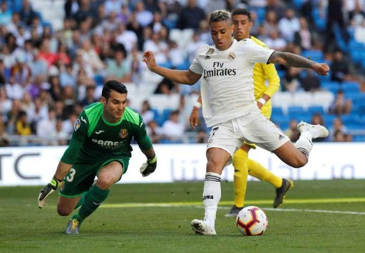 El Real Madrid derrota al Villarreal