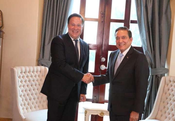 Varela y Cortizo se reúnen como parte de proceso de transición