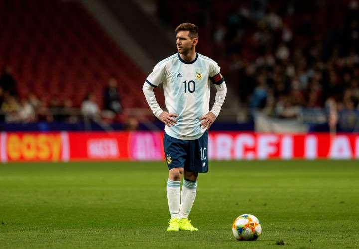 Lionel Messi, capitán de la selección de Argentina. / EFE