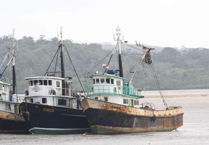 Naves pesqueras de la empresa Promarira . Foto: Eric Montenegro