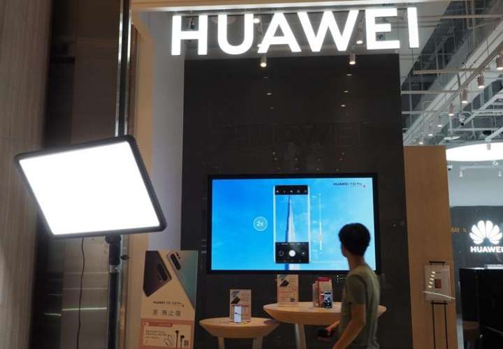 Una tienda Huawei en Taipei, Taiwán. EFEArchivo