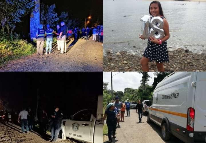 Las autoridades continuaron recabando indicios que ayuden a esclarecer el hecho. Fotos: Eric Ariel Montenegro
