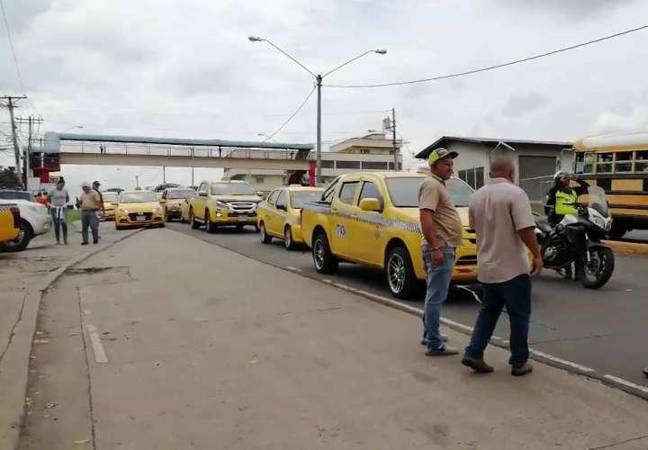 Taxistas rechazan designación de director provincial de la ATTT en Panamá Oeste