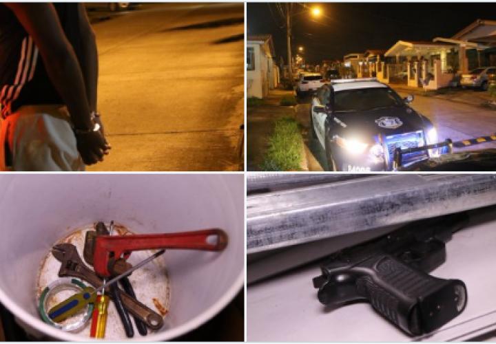 Aprehenden a 4 delincuentes por robo en Brisas del Golf [VIDEO]