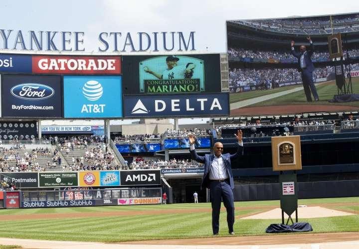 Yankees rindieron tributo a Mariano Rivera