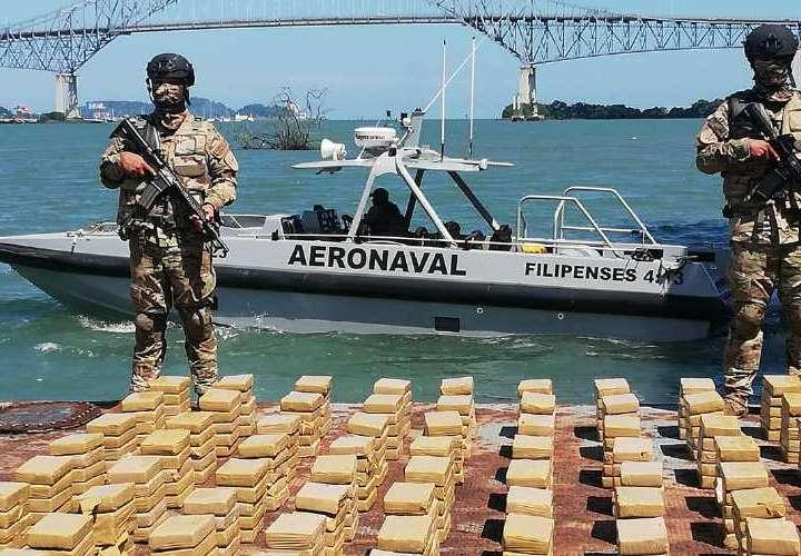 480 kilos caen por Punta Coco
