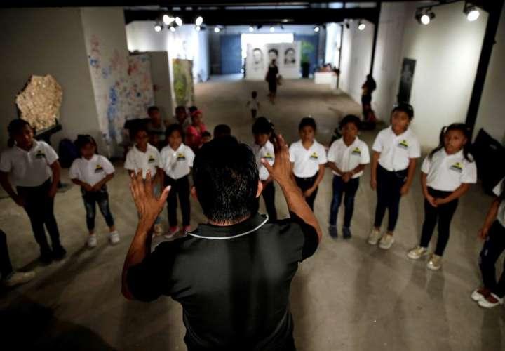 Coro infantil para revitalizar una lengua indígena en la capital