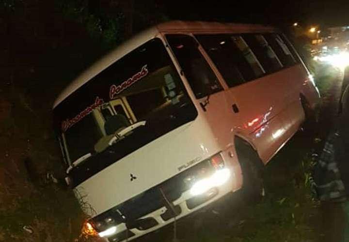 Gritos, llanto y desesperación tras accidente de 'chiva' de Vacamonte (Video)