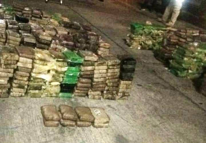 Ubican cuantioso narcocargamento oculto en contenedor en puerto de Colón