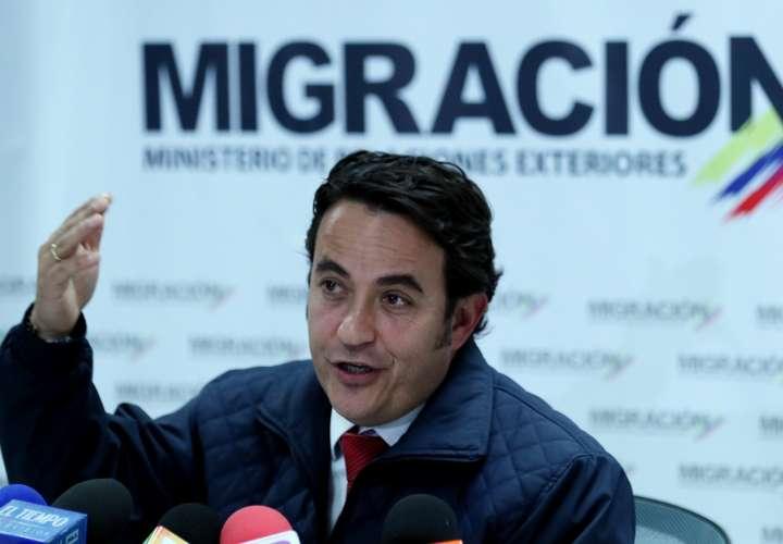 Colombia cuestiona el visado de venezolanos para entrar en Ecuador