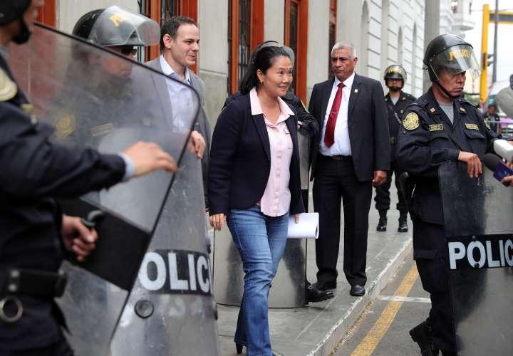 Jueza anunciará si reduce la prisión preventiva contra Keiko Fujimori