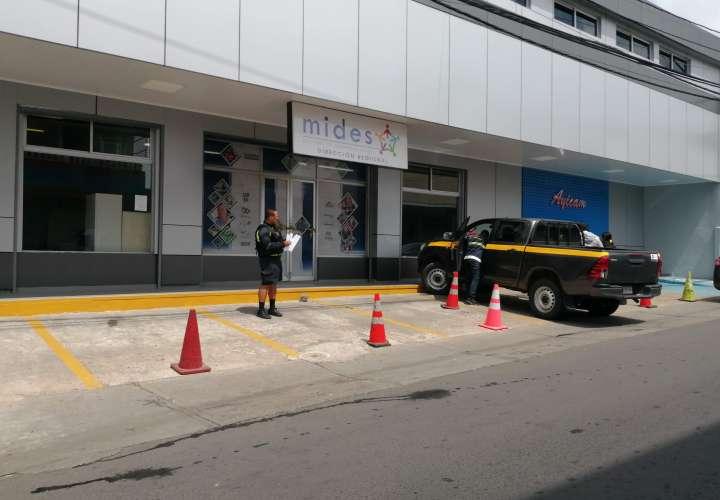 Vandalizan oficinas del Mides de Panamá Oeste
