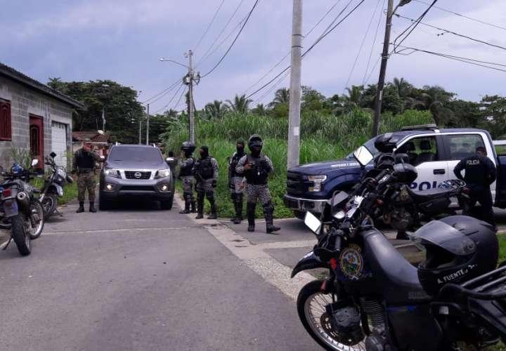 Balas y más balas en Colón