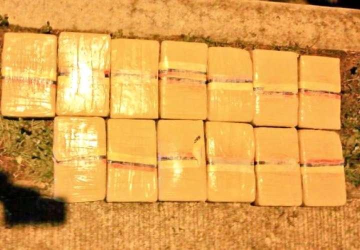 Cuatro sujetos detenidos por transportar droga en Chiriquí