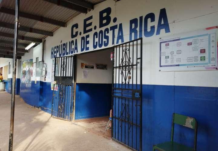 Prolongan paro de clases en escuela Costa Rica