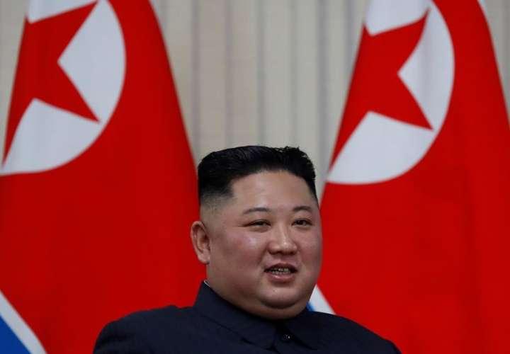 En la imagen del líder norcoreano, Kim Jong-un. EFE