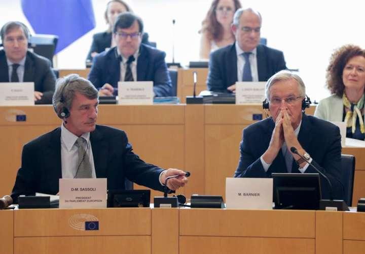 En la imagen el presidente del Parlamento Europeo, David Sassoli. EFE