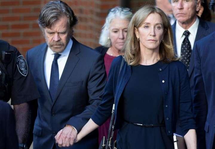 La actriz Felicity Huffman irá a la cárcel por escándalo de sobornos