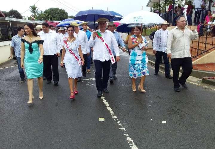 Pesé y Macaracas celebran 164 años de fundación