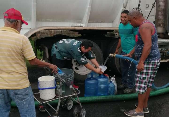 Arraiján sigue sin agua; Idaan abastece