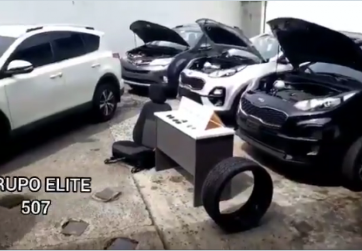 Desmantelan organización dedicada al robo y hurto de autos [Video]