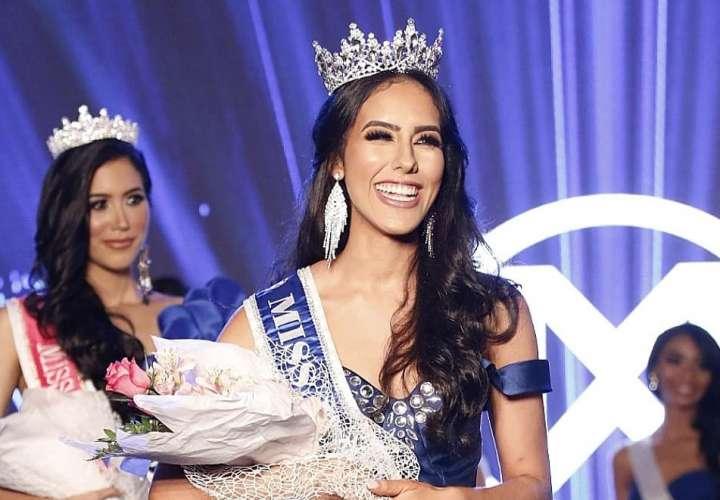 Otra herrerana se lleva la corona del Miss World Panamá