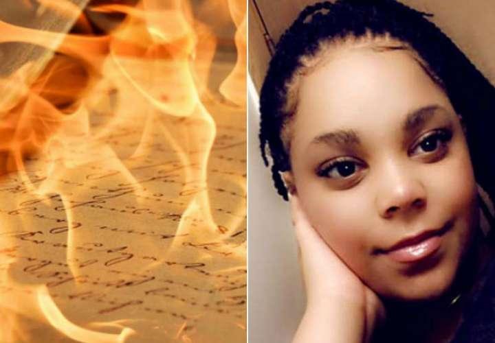 Intentó quemar las cartas de su exnovio y casi se muere