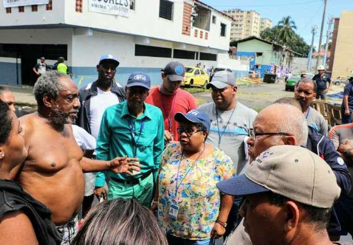 Anuncian apoyo para familia de bombero fallecido y damnificados