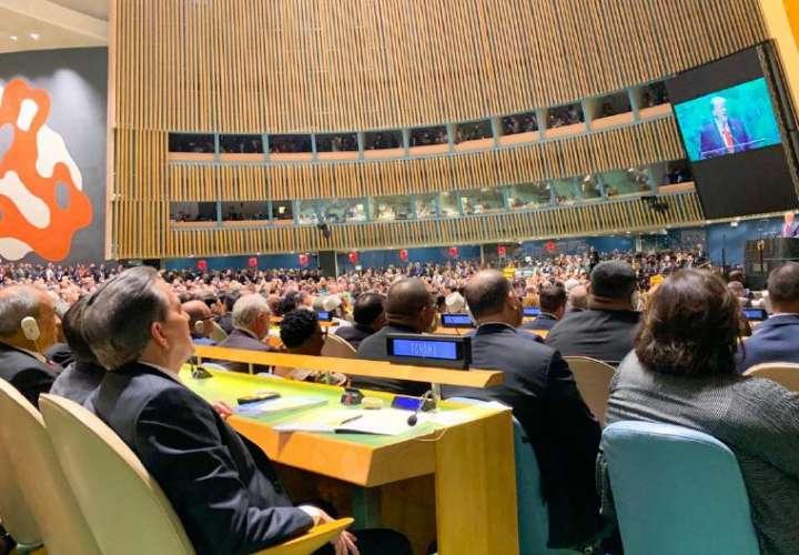 Nito habla hoy en Asamblea de la ONU