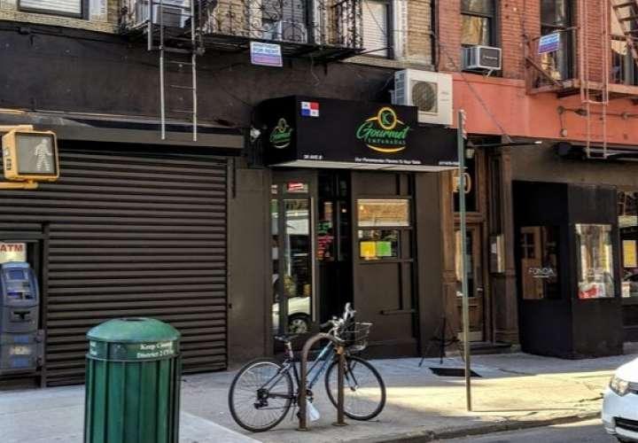 KC Gourmet Empanadas está ubicado en el número 38 de la avenida B en el Lower East Side de Manhattan. @EatTheWorldNYC