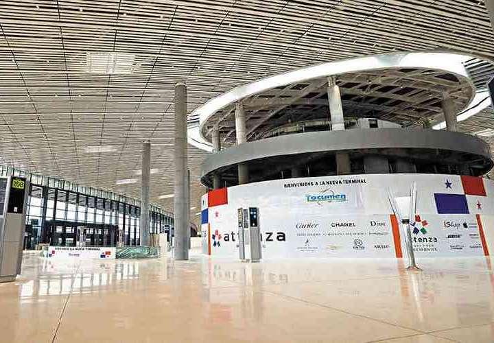 Reconocimiento a la Terminal 2 de Tocumen