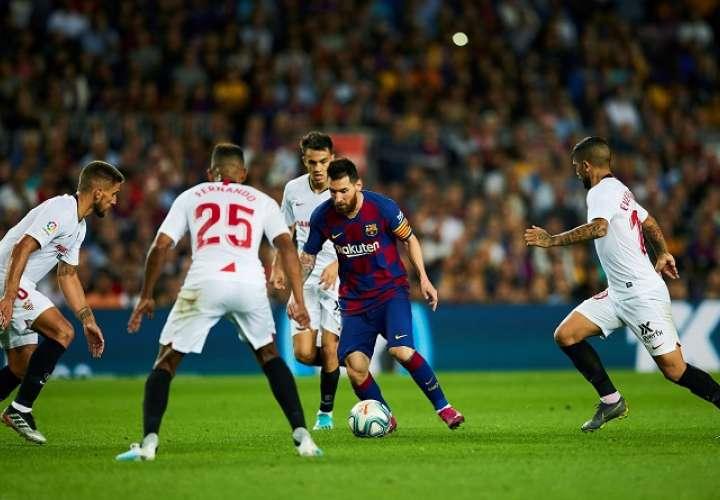 Valverde elogia la efectividad de Messi, Suárez y compañía...