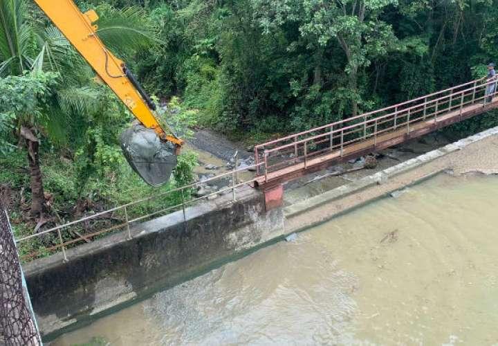Planta potabilizadora de San Bartolo es afectada por lluvias