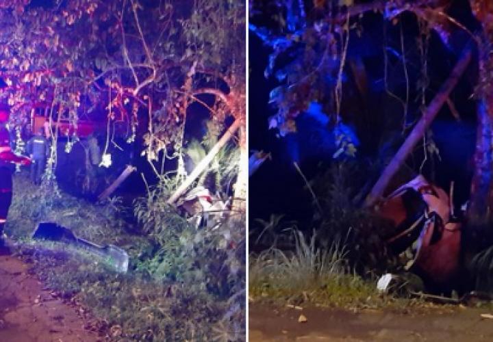 Dos muertos tras persecución policial en Arraiján [Video]