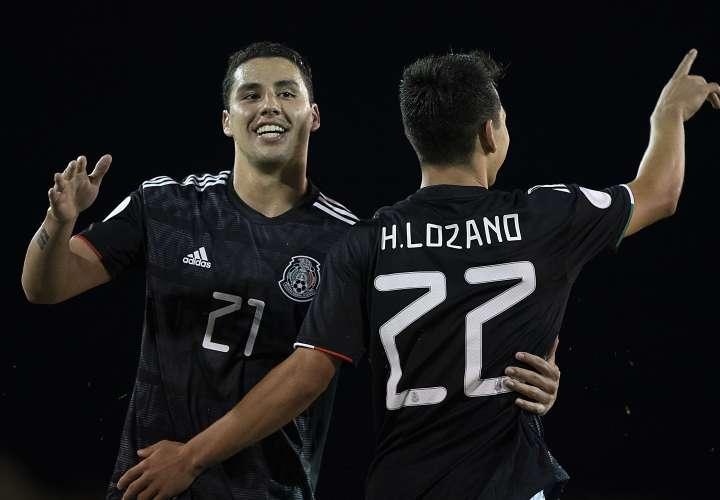 México rellena de goles a Bermudas y ahora le apunta a Panamá