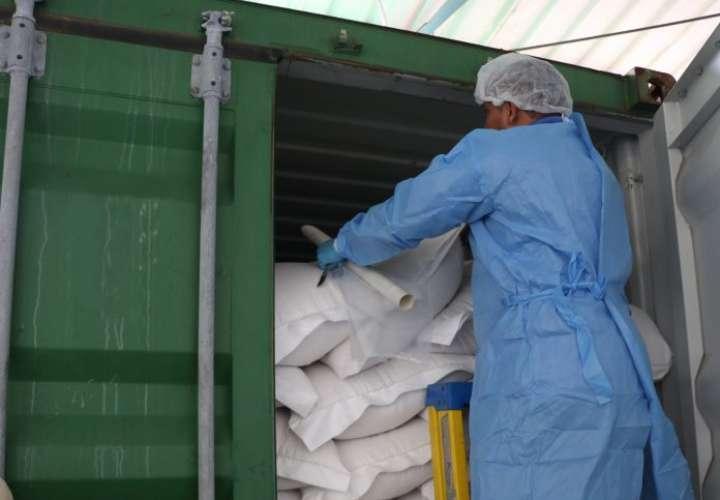 Decomisan leche en polvo fraudulenta