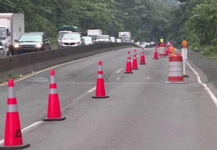 Cerrarán vía del puente de Las Américas este miércoles