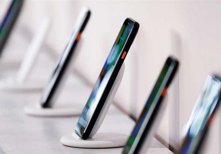Presentación del Google Pixel 4 durante un evento de lanzamiento de productos de Google llamado 'Hecho por Google' 19 'en Nueva York, Nueva York, EE. UU. Foto: EFE