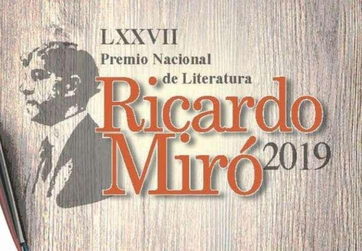 Eligen a los ganadores del Premio Nacional de Literatura Ricardo Miró