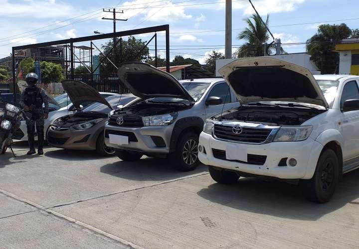Desarticulan banda dedicada a hurtos y robos de vehículos en Chiriquí