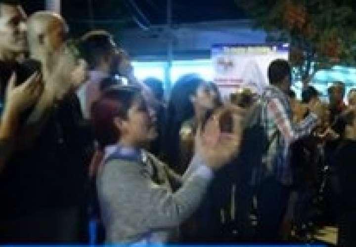 Universitarios de Oeste salen a la calle para pedir más seguridad