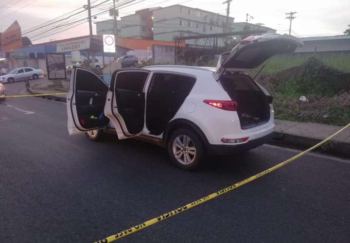 Auto detenido en Pedregal.