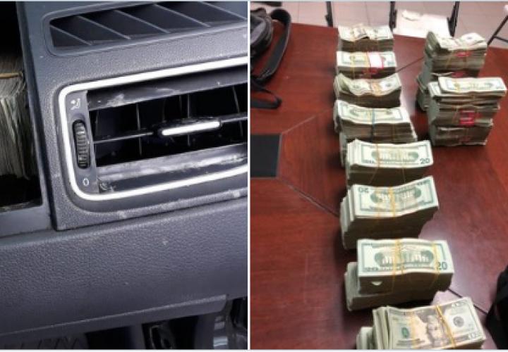 Condenados a 5 años de cárcel por transportar más 200 mil dólares en Volkswagen