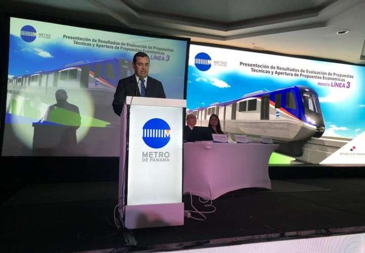 Consorcio coreano gana licitación de la línea 3 del metro de Panamá