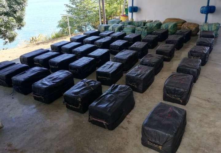 Incautación millonaria de droga en Punta Burica [Video]